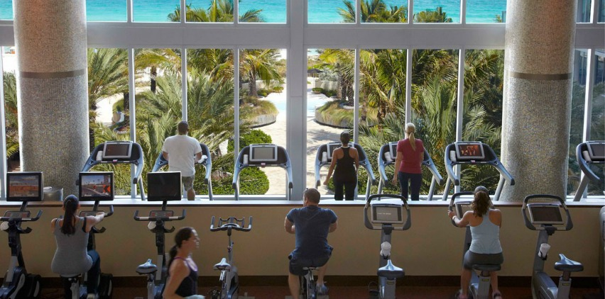 The Hottest Hotel Gyms in the U.S.