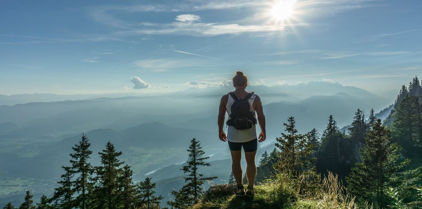 woman hiking freelancer writer