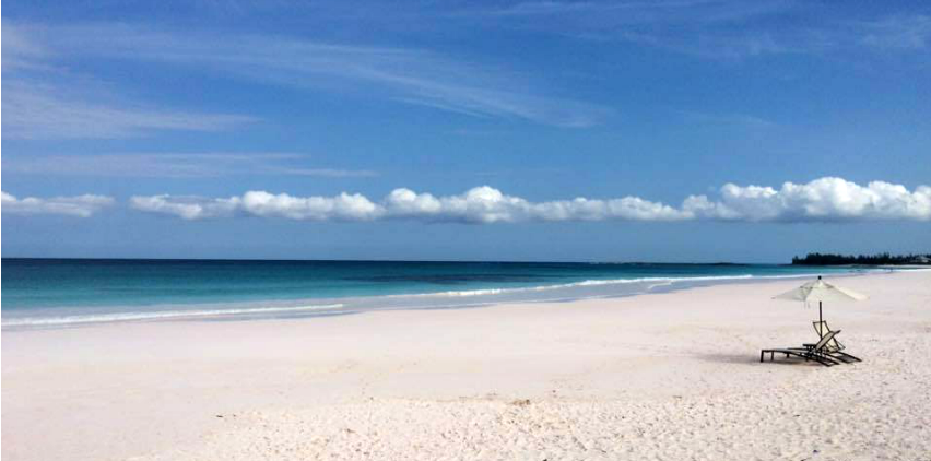 French Leave Beach Pink Sand