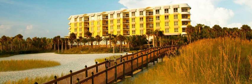 hotel on beach