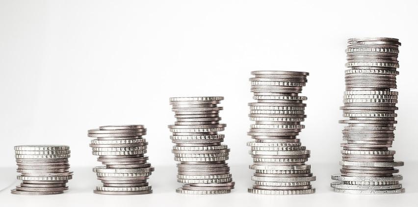silver money coins