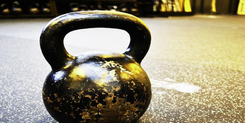 Unsplash Black and silver kettlebell on the floor