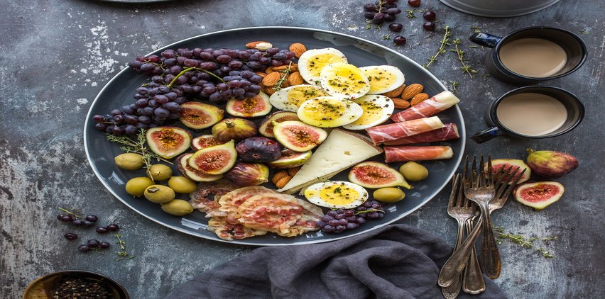 fruit cheese plate protein