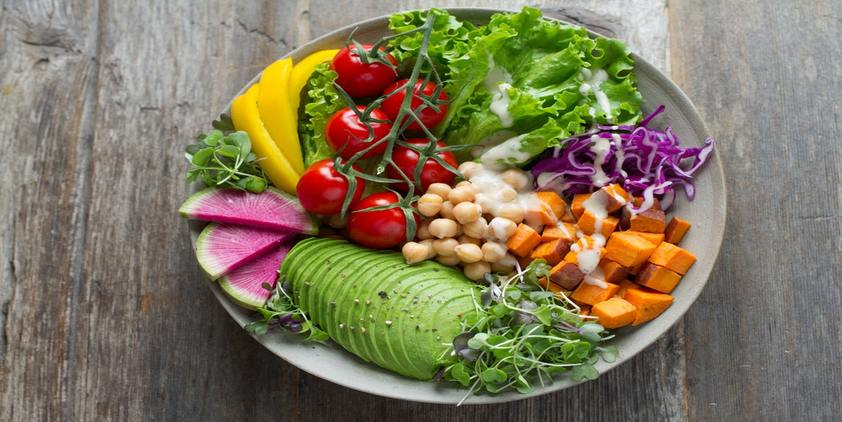 unsplash. Bowl of vegetables