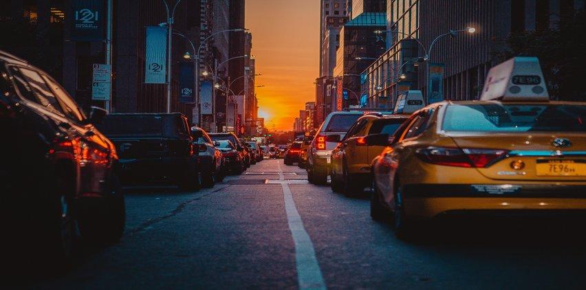 car traffic in new york city